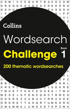 Wordsearch Challenge book 1: 200 themed wordsearch puzzles