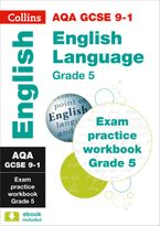 New Grade 9-1 GCSE English Language AQA Exam Practice Workbook (Grade 5) (Collins GCSE 9-1 Revision) Paperback  by Collins GCSE