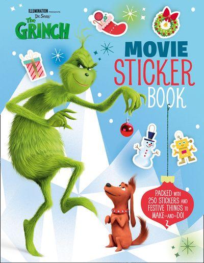 The Grinch: Movie Sticker Book: Movie Tie-in