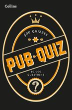 Collins Pub Quiz: 10,000 easy, medium and difficult questions (Collins Puzzle Books) Paperback  by Collins Puzzles
