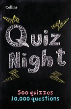 Collins Quiz Night: 10,000 original questions in 500 quizzes Paperback  by Collins Puzzles