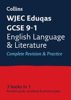 GCSE English Language and English Literature Grade 9-1 WJEC Eduqas Complete Practice and Revision Guide with free online Q&A flashcard download (Collins GCSE 9-1 Revision) Paperback  by Collins GCSE