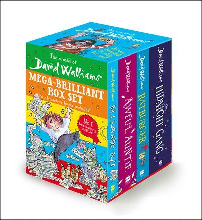 David Walliams Themed Four Book Box Set