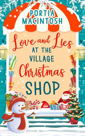 Love and Lies at The Village Christmas Shop book image