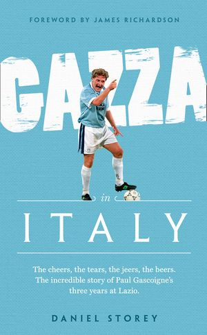 Gazza in Italy book image