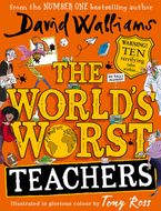 The World's Worst Teachers Hardcover  by David Walliams