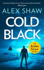 Cold Black (An Aidan Snow SAS Thriller, Book 2)