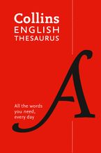 Collins English Thesaurus Essential: All the words you need, every day Paperback  by Collins Dictionaries
