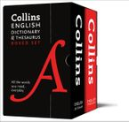 Collins English Dictionary and Thesaurus Boxed Set: All the words you need, every day Paperback  by Collins Dictionaries