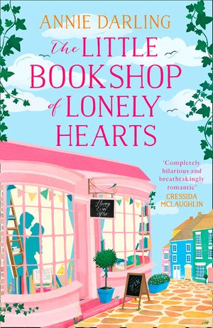 The Little Bookshop of Lonely Hearts: A feel-good funny romance book image