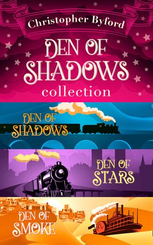 Den of Shadows Collection: Lose yourself in the fantasy, mystery, and intrigue of this stand out trilogy book image