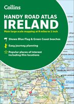 Collins Handy Road Atlas Ireland Paperback NED by Collins Maps