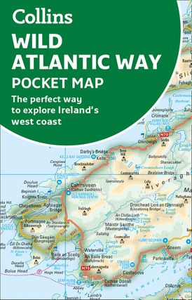Wild Atlantic Way Pocket Map The Perfect Way To Explore Ireland S
