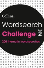 Wordsearch Challenge book 2: 200 themed wordsearch puzzles Paperback  by Collins Puzzles