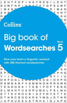 Big Book of Wordsearches 5: 300 themed wordsearches (Collins Wordsearches)