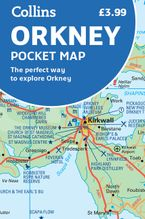 Orkney Pocket Map: The perfect way to explore Orkney Sheet map, folded NED by Collins Maps