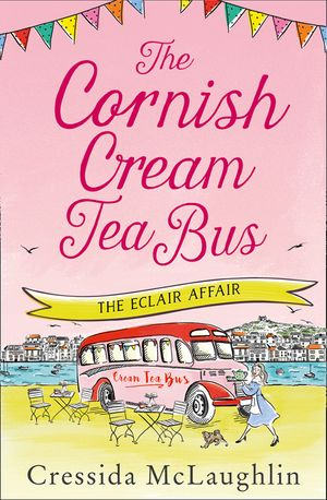 The Eclair Affair (The Cornish Cream Tea Bus, Book 2) book image