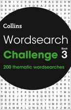 Wordsearch Challenge book 3: 200 themed wordsearch puzzles Paperback  by Collins Puzzles