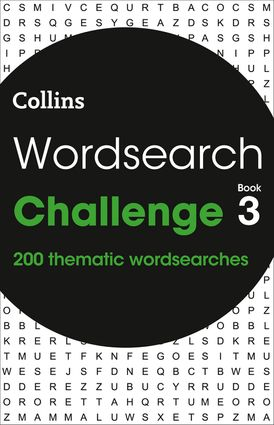 Wordsearch Challenge Book 3: 200 themed wordsearch puzzles (Collins Wordsearches)