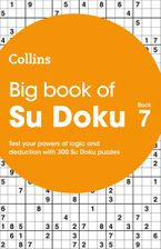 Big Book of Su Doku 7: 300 Su Doku puzzles Paperback  by Collins Puzzles
