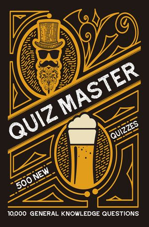 Collins Quiz Master: 10,000 general knowledge questions book image