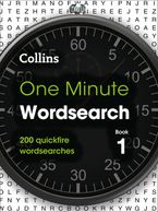 One Minute Wordsearch Book 1: 200 quickfire wordsearches Paperback  by Collins Puzzles