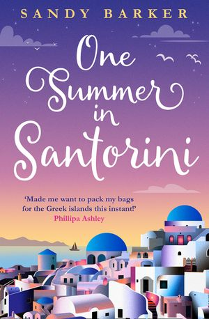 One Summer in Santorini book image