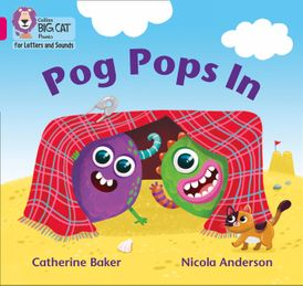Collins Big Cat Phonics for Letters and Sounds – Pog Pops In: Band 1B/Pink B