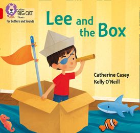 Collins Big Cat Phonics for Letters and Sounds – Lee and the Box: Band 2B/Red B