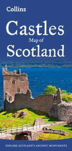 Castles Map of Scotland (Collins Pictorial Maps) Sheet map, folded NED by Collins Maps