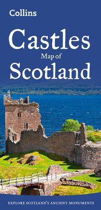 castles-map-of-scotland-collins-pictorial-maps