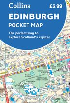 Edinburgh Pocket Map: The perfect way to explore Edinburgh Sheet map, folded  by Collins Maps
