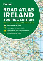 Road Atlas Ireland: Touring edition A4 Paperback (Collins Road Atlas) Paperback  by Collins Maps