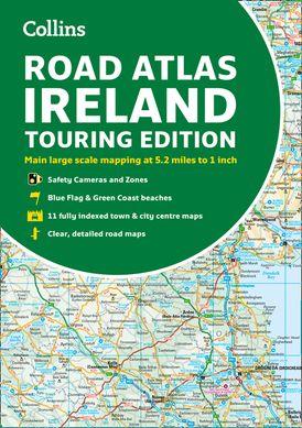 Road Atlas Ireland: Touring edition A4 Paperback (Collins Road Atlas)