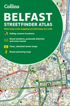 Collins Belfast Streetfinder Colour Atlas Paperback  by Collins Maps