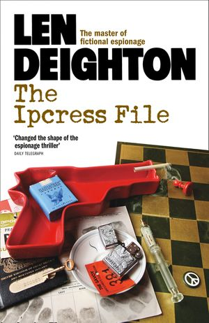 The Ipcress File book image