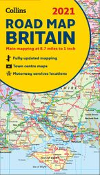GB Map of Britain 2021: Folded road map (Collins Road Atlas) Sheet map, folded NED by Collins Maps