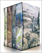 The Hobbit & The Lord of the Rings Boxed Set Hardcover ILL by J. R. R. Tolkien