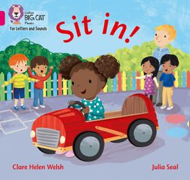 Collins Big Cat Phonics for Letters and Sounds – Sit in!: Band 1A/Pink A