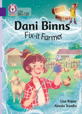 Dani Binns Fix-it Farmer: Band 08/Purple (Collins Big Cat)