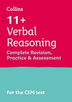 Collins 11+ Practice – 11+ Verbal Reasoning Complete Revision, Practice & Assessment for CEM: For the 2021 CEM Tests Paperback  by Collins 11+