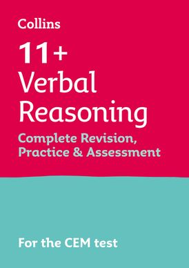 Collins 11+ Practice – 11+ Verbal Reasoning Complete Revision, Practice & Assessment for CEM: For the 2021 CEM Tests