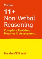 Collins 11+ – 11+ Non-Verbal Reasoning Complete Revision, Practice & Assessment for CEM: For the 2021 CEM Tests