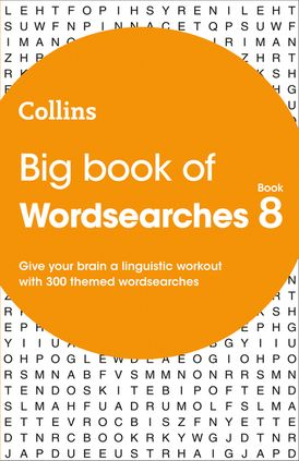 Big Book of Wordsearches 8: 300 themed wordsearches (Collins Wordsearches)