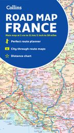 Collins Map of France