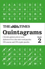 The Times Quintagrams Book 2: 500 mini word puzzles (The Times Puzzle Books) Paperback  by The Times Mind Games