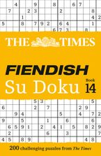 The Times Fiendish Su Doku Book 14: 200 challenging Su Doku puzzles (The Times Su Doku) Paperback  by The Times Mind Games