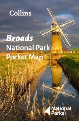 Broads National Park Pocket Map: The perfect guide to explore this area of outstanding natural beauty