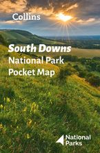 South Downs National Park Pocket Map: The perfect guide to explore this area of outstanding natural beauty Sheet map, folded  by National Parks UK