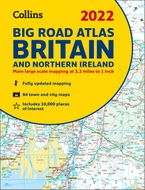 2022 Collins Big Road Atlas Britain: A3 Paperback